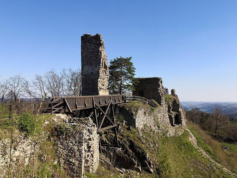 hrad Zubštejn