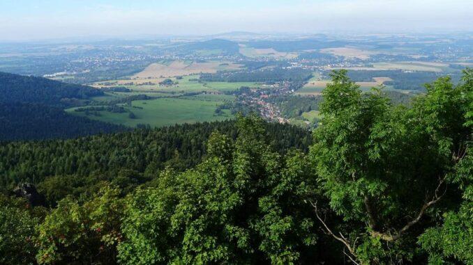 Lužické hory a vrch Luž