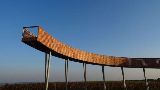 rozhledna Stezka nad vinohrady