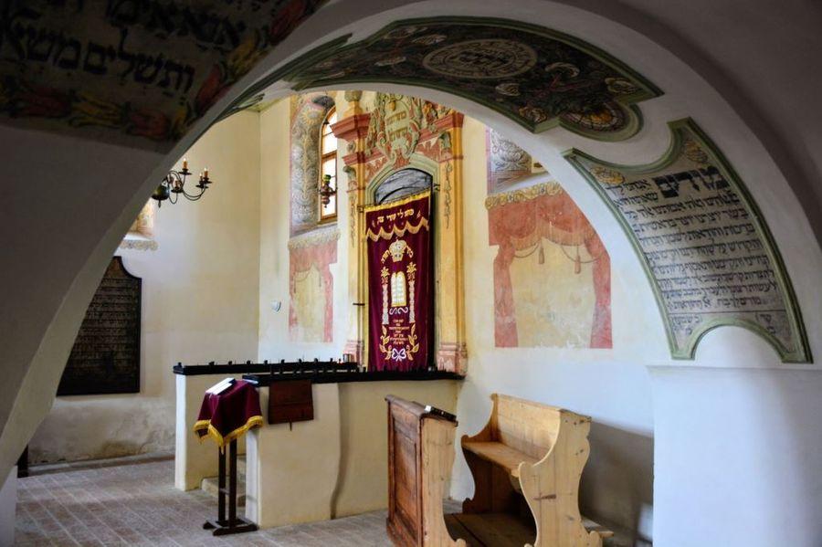 nejen zámek Holešov, ale i synagoga stojí za návštěvu