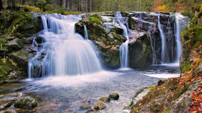 vodopády Bílého Labe