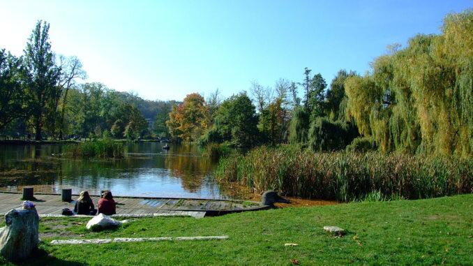 Rybník, posezení, příroda