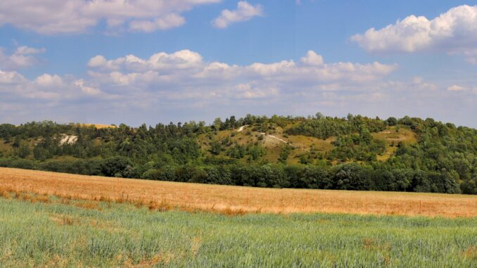 Panoramatický snímek - Bílé Stráně