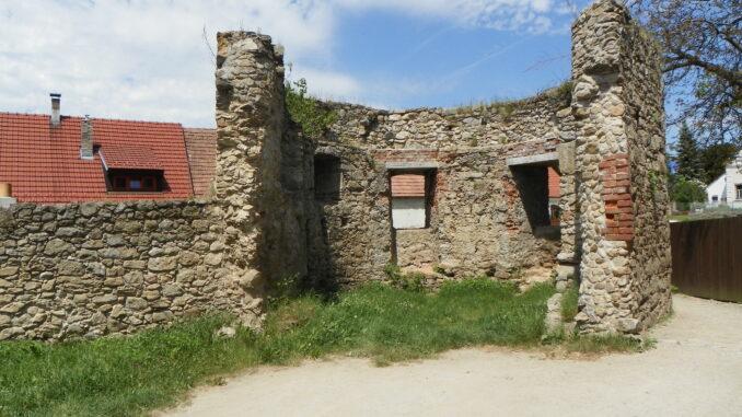 Středověké hradby Slavonice