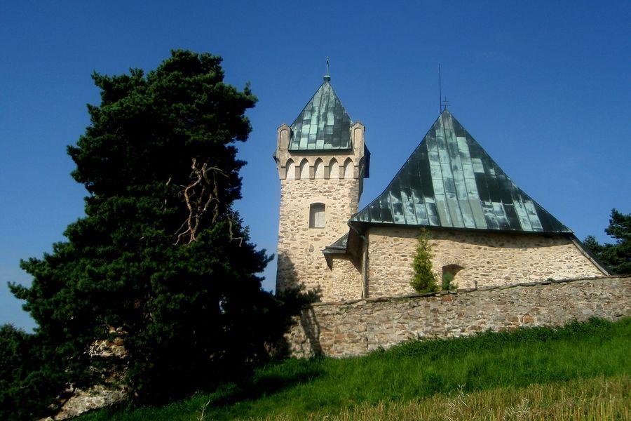 Velký okruh Bystřickem-Kostel sv. Michaela ve Vítochově