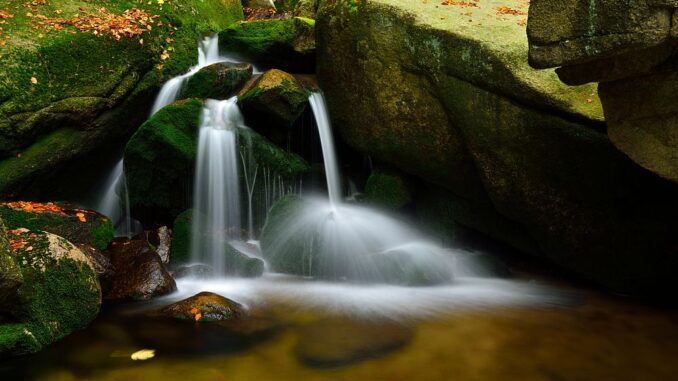 Vodopád na Hájeném potoce