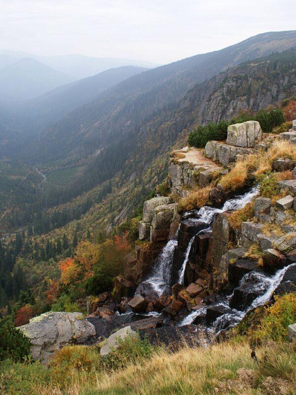 Vodopád v Krkonoších