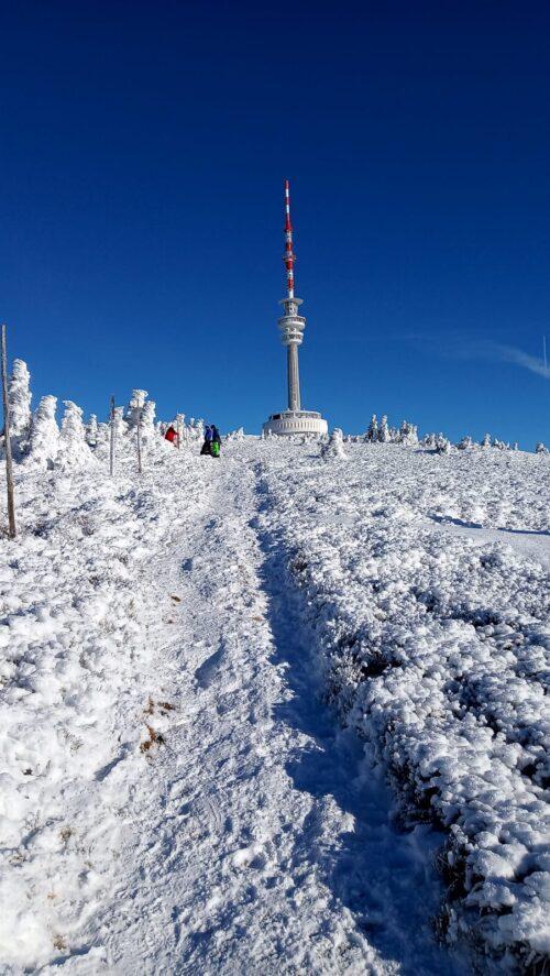 Pohled na vrchol