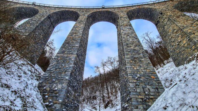 Most - pohled zespodu