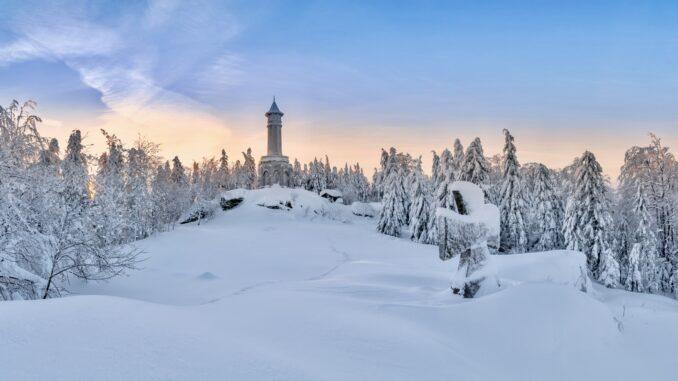 Panorama s rozhlednou Štěpánka