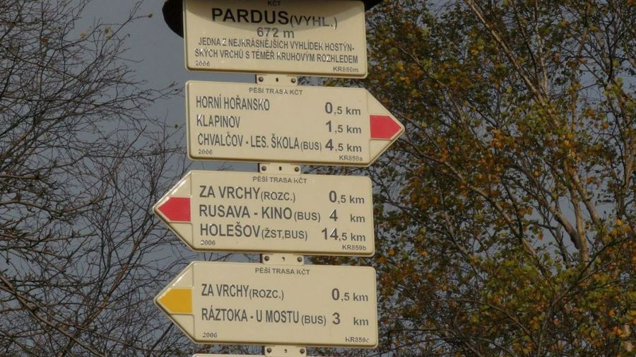 informační rozcestník - na Pardus