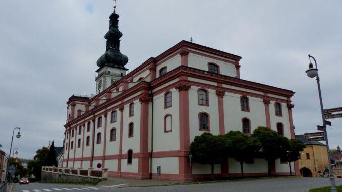 Polná - Kostel Nanebevzetí Panny Marie