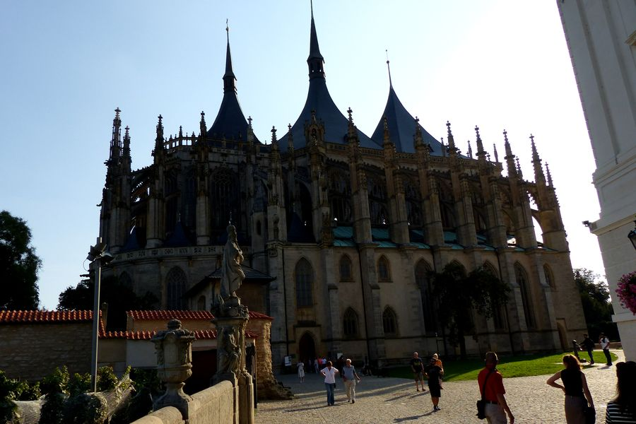 Kutná hora-Chrám sv. Barbory