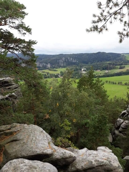 Křížový vrch - výhledy