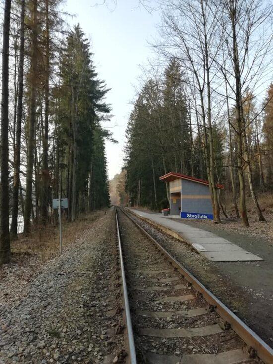 Železnice na Stvořidlech