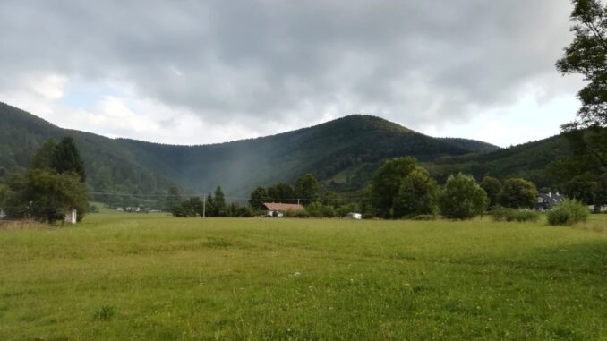 Pohled na horu Radhošť