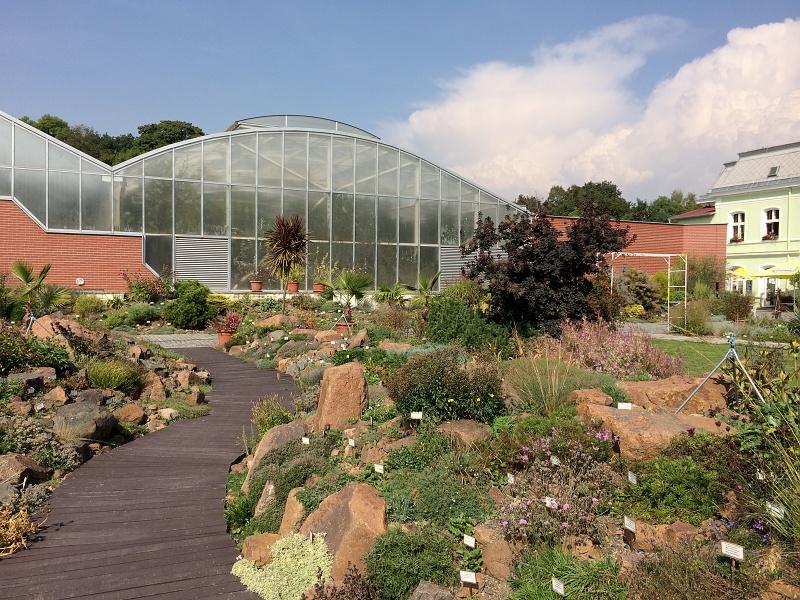Teplická botanická zahrada
