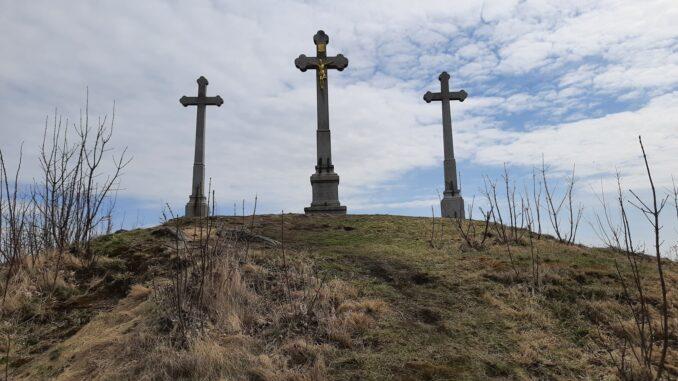 Tři kříže nad Novým Městem na Moravě