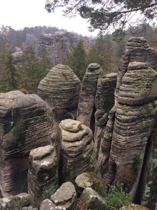 Prachovské skály a jejich skalní město