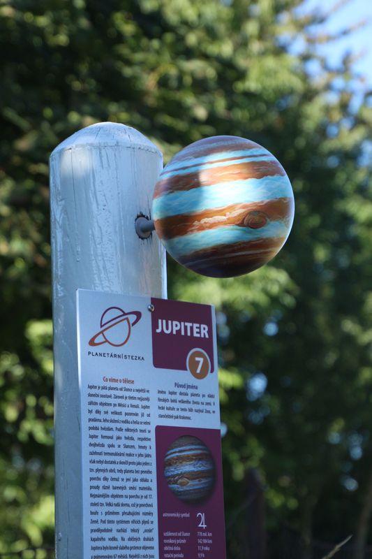 Planetární stezka Proseč