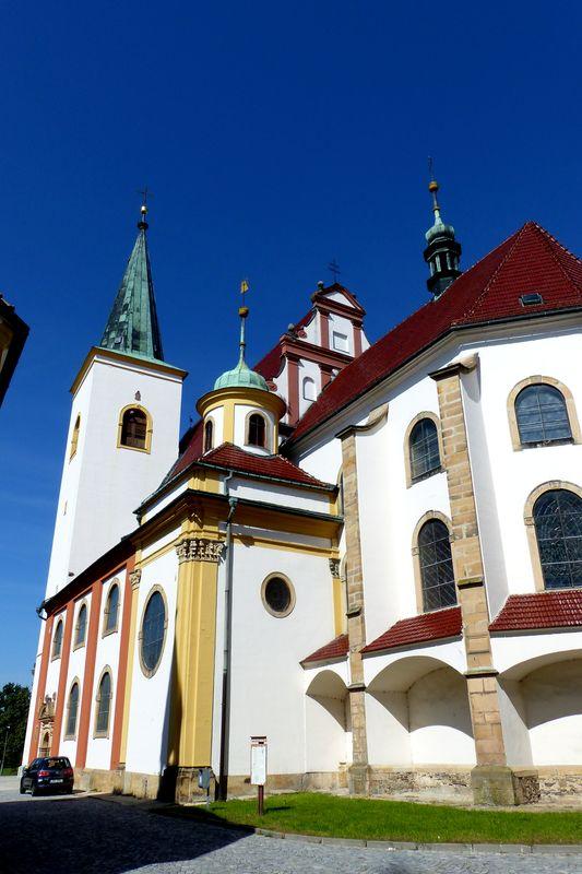 Kostel sv. Marka, město Litovel