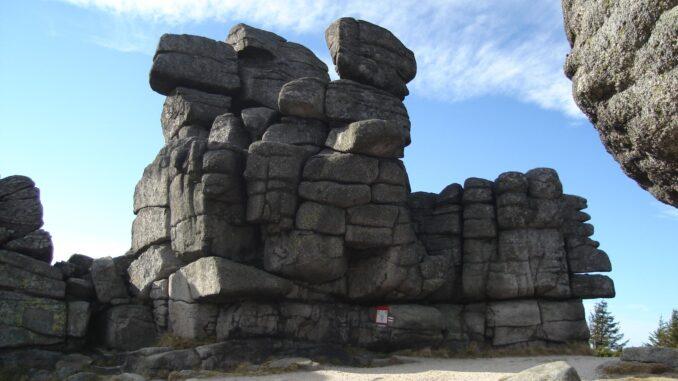 Svinské kameny jako tři prasátka