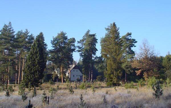 Pohled na arboretum Sofronka od jihovýchodu