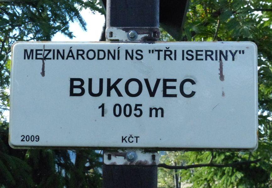 vrch a Přírodní rezervace Bukovec