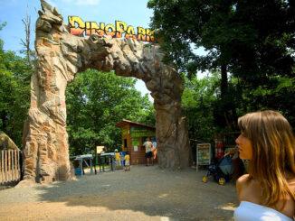 DinoPark v Plzni