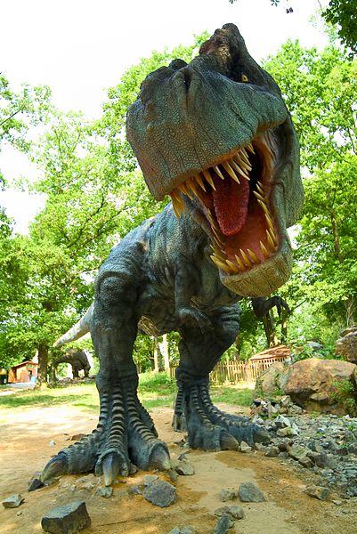 DinoPark v Plzni a Tyranosaurus Rex