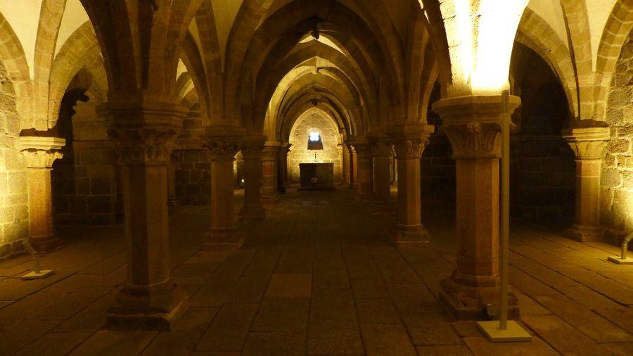 Krypta, bazilika sv. Prokopa v Třebíči
