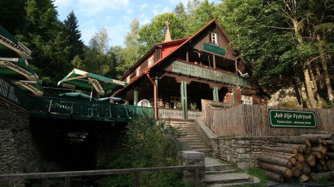 Turnerova chata-Naučná stezka Povydří
