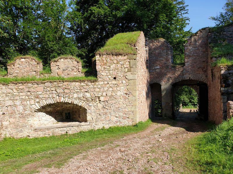 Státní hrad Litice nad Orlicí. Zdroj foto: archív autorky