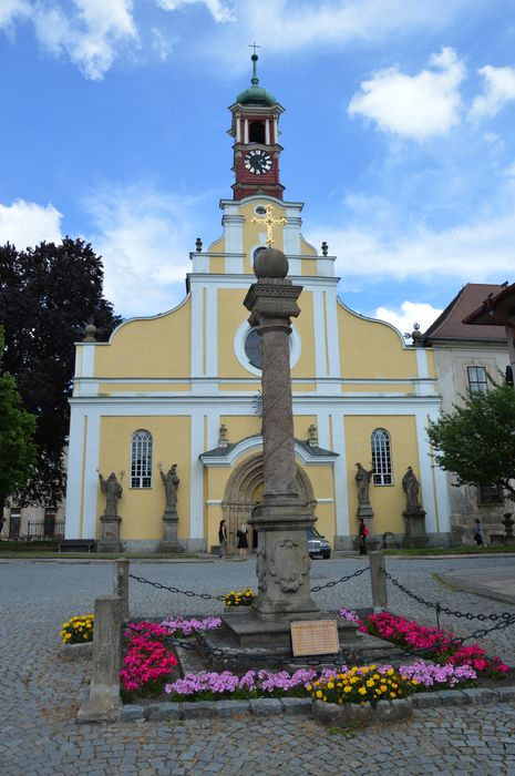 Kostel Nanebevzetí Panny Marie v Polici nad Metují. Foto: Jan Špelda. Zdroj: Centrála cestovního ruchu Královéhradeckého kraje