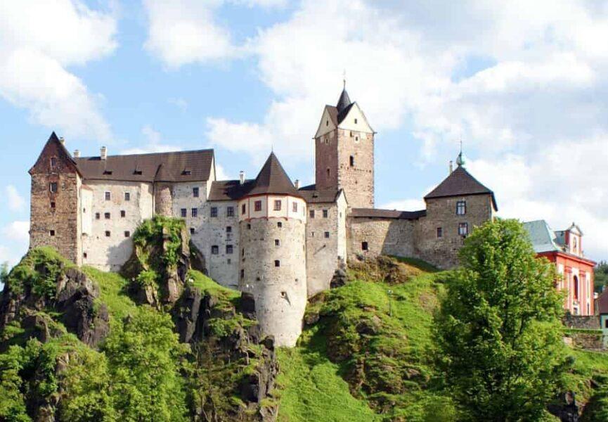 Fajn tipy na výlety hrad Loket