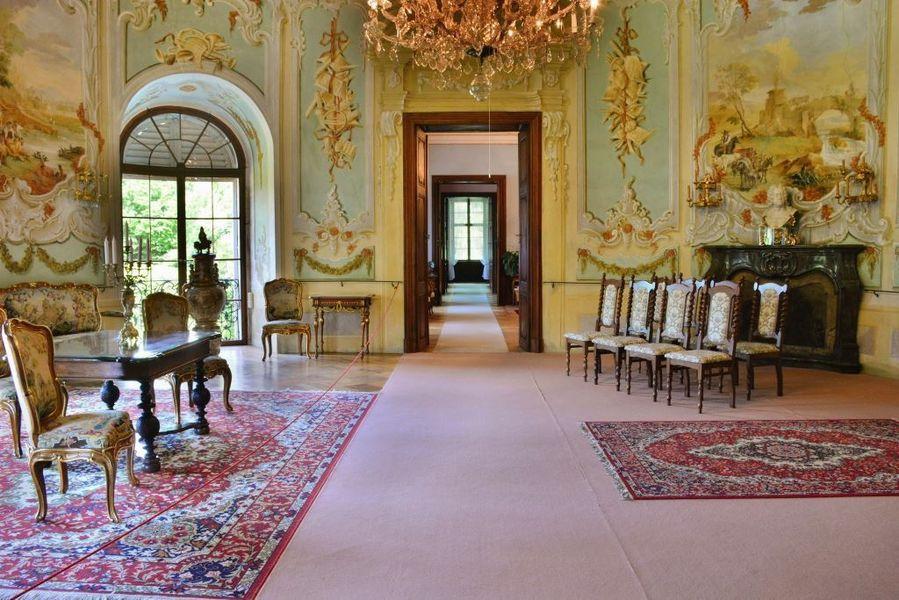 interiér zámku Vizovice