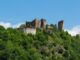 Zřícenina hradu Cornštejn nad Vranovskou přehradou