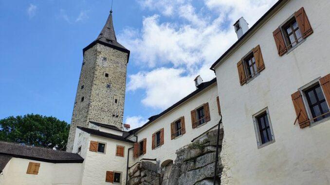 Zřícenina hradu Roštejn. Foto: Jiří Novotný
