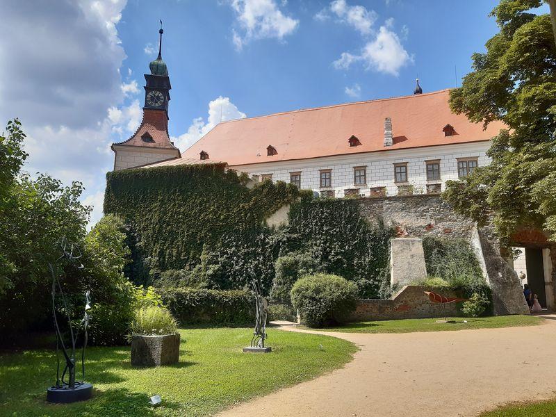 Státní zámek Náměšť nad Oslavou. Foto: Anna Petruželková