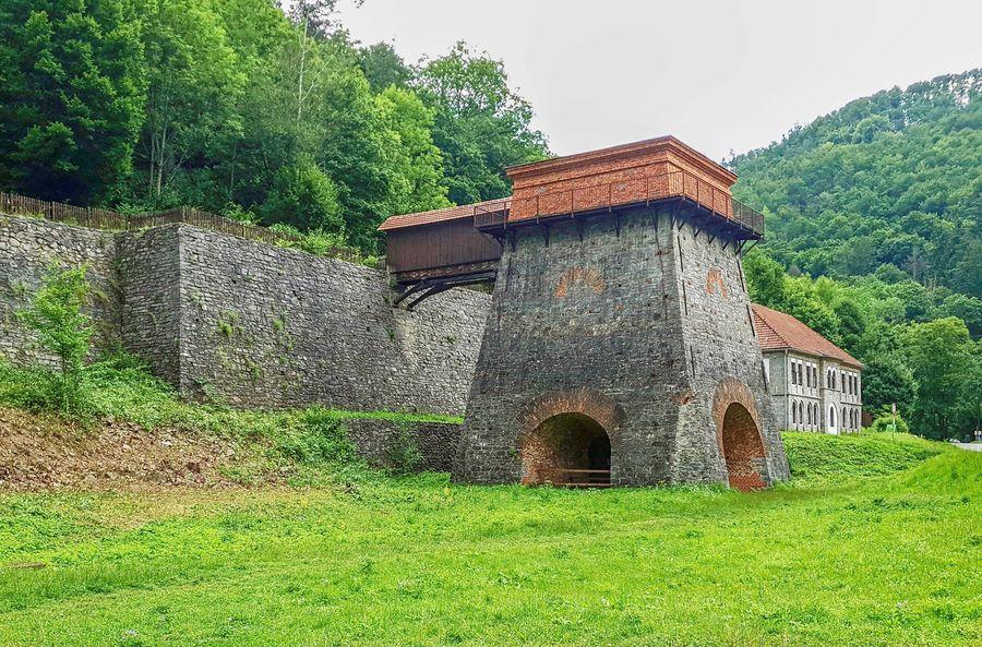 Stará huť u Adamova (Františčina huť), Moravský kras. Foto: Jiří Novotný