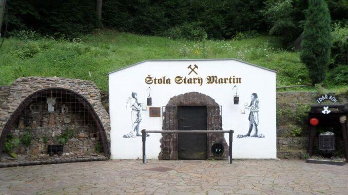 Štola Starý Martin, Krupka v Krušných horách. Foto: Anna Petruželková