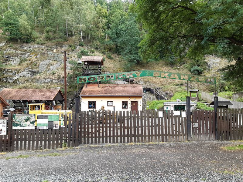 Hornický skanzen ve Stříbře. Foto: Anna Petruželková