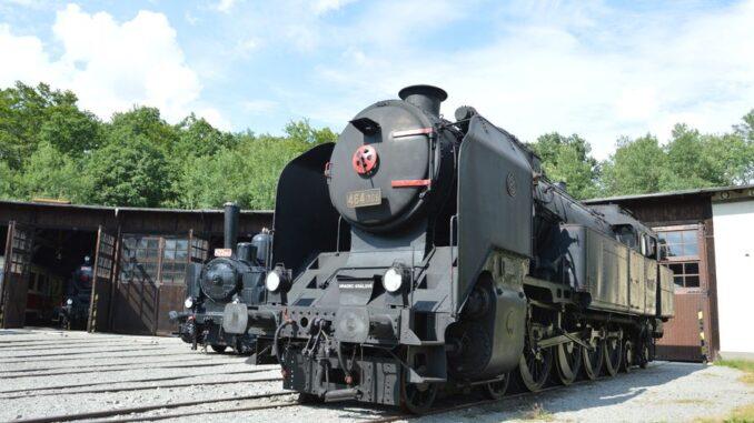 Železniční muzeum Českých drah v Lužné u Rakovníka. Zdroj: Muzeum ČD Lužná
