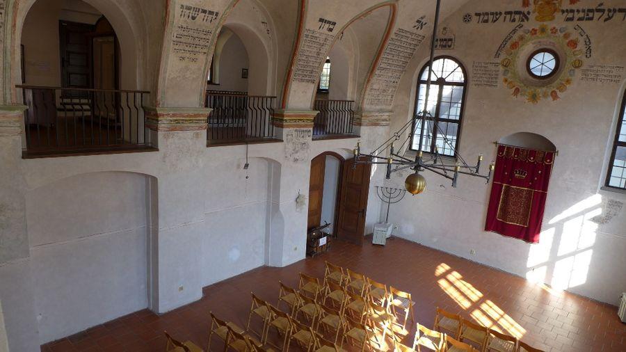 Zadní synagoga Třebíč. Foto: Eva Koutná
