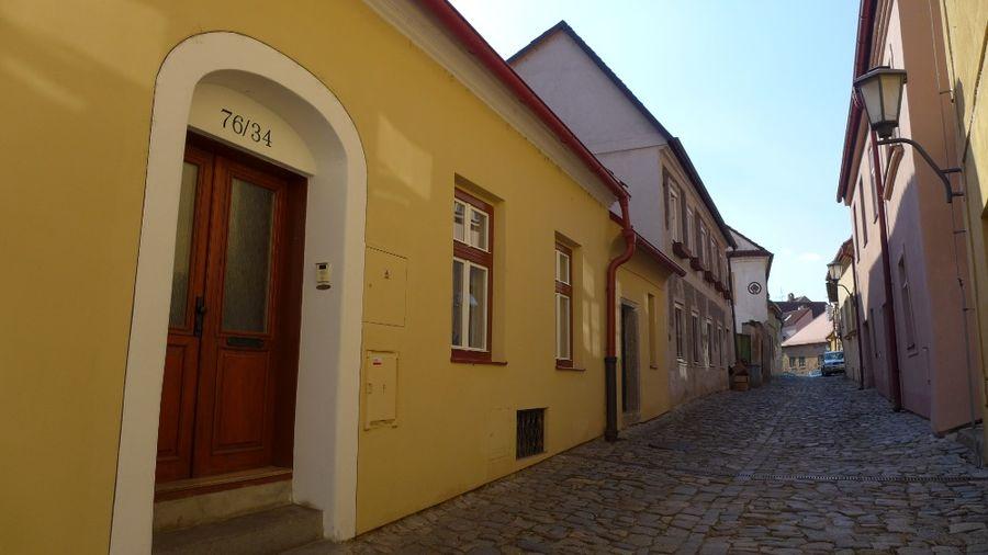Třebíčská židovská čtvrť. Foto: Eva Koutná