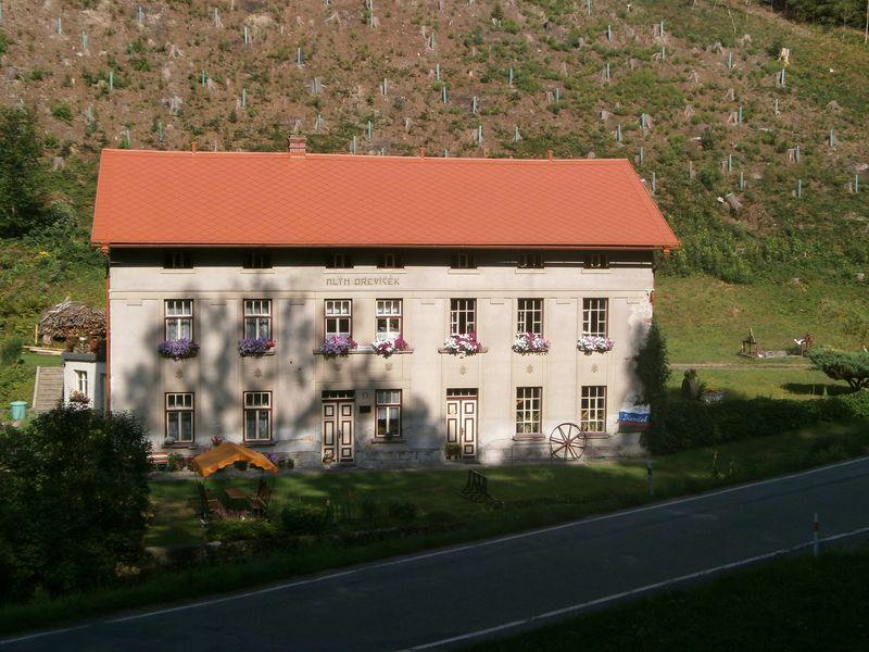 Vodní mlýn Dřevíček, technická památka. Zdroj: Mlýn Dřevíček