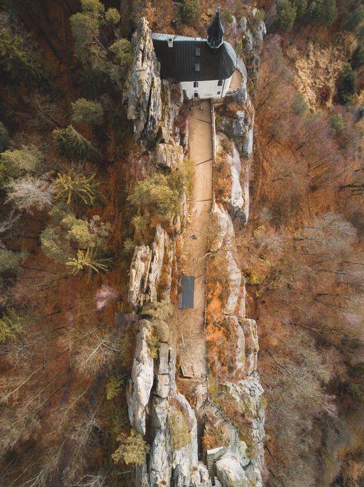 Skalní hrad Vranov. Zdroj foto: Vranov – Pantheon