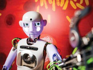 iQLANDIA v Liberci a jeho robot Thespian. Zdroj: © IQLANDIA, o. p. s.