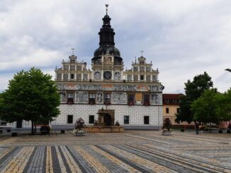 Město Stříbro, renesanční radnice. Foto: Anna Petruželková