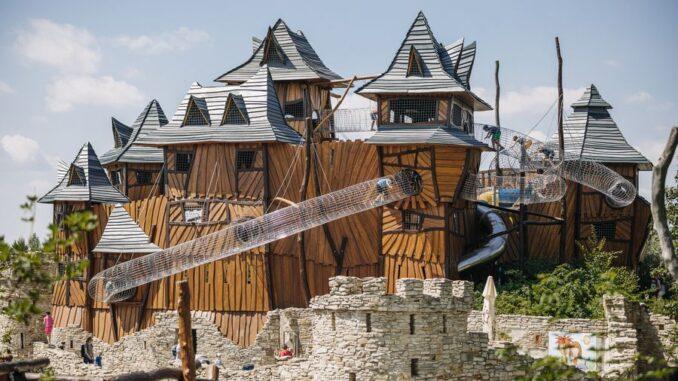 V Parku Mirakulum v Milovicích je ráj zábavy. Zdroj: Park Mirakulum